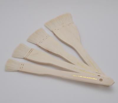 Hake Brush Set (4) 25-100mm