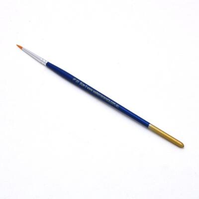 Size 0 Round Golden Nylon Brush
