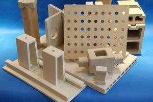Kiln Shelf 450X450X20mm Perforated