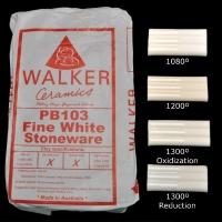 PB103 Fine White Stoneware ~10kg - Click for more info