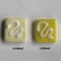 Lemon Yellow Slip 1080 - 1220 oC - Click for more info