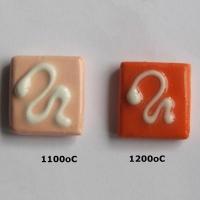 Seville Orange Slip 1080 - 1220 oC - Click for more info