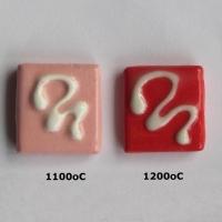 Chilli Red Coloured Slip 1080 - 1220 oC - Click for more info