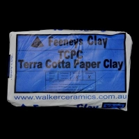 Terra Cotta Paper Clay (TCPC) ~12.5kg - Click for more info