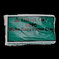 White Raku Paper Clay (WRPC) ~12.5kg - Click for more info