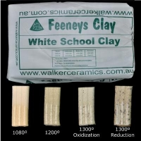 White School Clay (WSC) ~12.5kg - Click for more info
