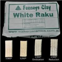 White Raku (WR) ~12.5kg - Click for more info