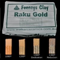 Raku Gold (RG) ~12.5kg - Click for more info