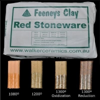 Red Stoneware (RSW) ~12.5kg - Click for more info
