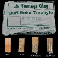 Feeneys Buff Raku Trachyte (BRT) ~12.5kg - Click for more info