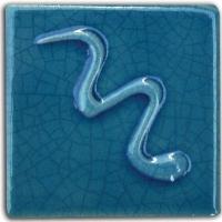 Egyptian Blue Crackle Glaze 132 1000-106 - Click for more info