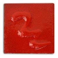 Signal Red Cadmium Glaze 1000-1040 - Click for more info
