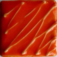 Orange Gloss Glaze 1180-1220 - Click for more info