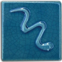 Egyptian Blue Crackle Gloss Glaze 1000-1060 - Click for more info