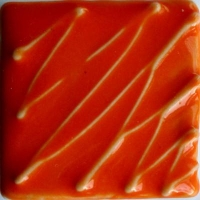 Orange Gloss Glaze 1180-1220 - Click for more info