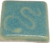 Tahitian Green Gloss Glaze 1260-1280 - Click for more info
