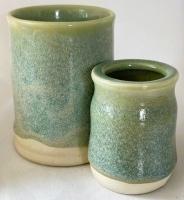 Kiwi Spangle Gloss Glaze 1260-1280 - Click for more info