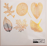 Decal - Large Leaves - Gold - Click for more info