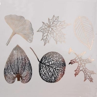 Decal - Large Leaves - Platinum - Click for more info