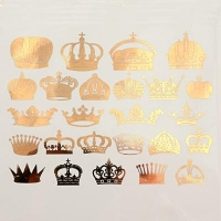 Decal - Crowns - Gold - Click for more info
