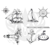 Nautical Silkscreen - Click for more info