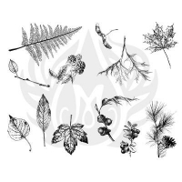 Botanical - Leaves Silkscreen - Click for more info