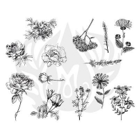 Flowers Silkscreen - Click for more info