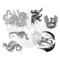 Dragons Silkscreen - Click for more info