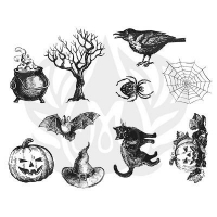 Halloween Silkscreen - Click for more info