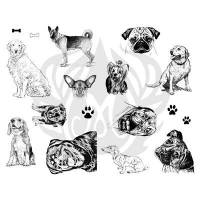 Dogs Silkscreen - Click for more info