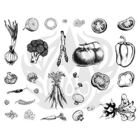 Vegetables Silkscreen - Click for more info