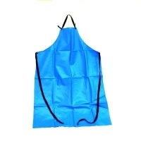 Apron - Ansell PVC White Waterproof - PVC-50-W - Click for more info
