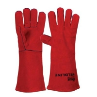 Gloves - Leather/Cotton Kevlar Stitched - Click for more info