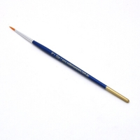 Size 1 Round Golden Nylon Brush - Click for more info