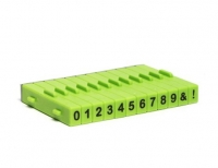 Xiem - Numbers Stamp Set 12 pcs - Click for more info