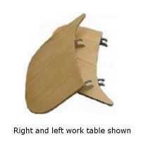 Work Table (LH) Venco D/Drive - Click for more info