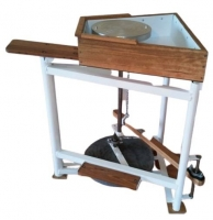 Traditional Leach Kick Wheel - Click for more info