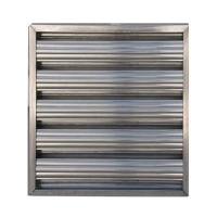 Pro V Aluminium Baffle Filter x 2 - Click for more info