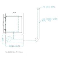 Vent for small 1 ph kiln - Floor K2-K6 - Click for more info