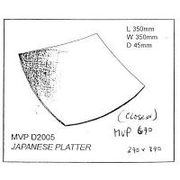 Square Japanese Platter Drape - Click for more info