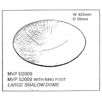 Large Shallow Wok With Foot Drape - Click for more info