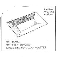 Large Rectangular Platter Drape - Click for more info