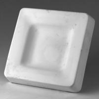 Square Recessed Dish Large Slump - Click for more info
